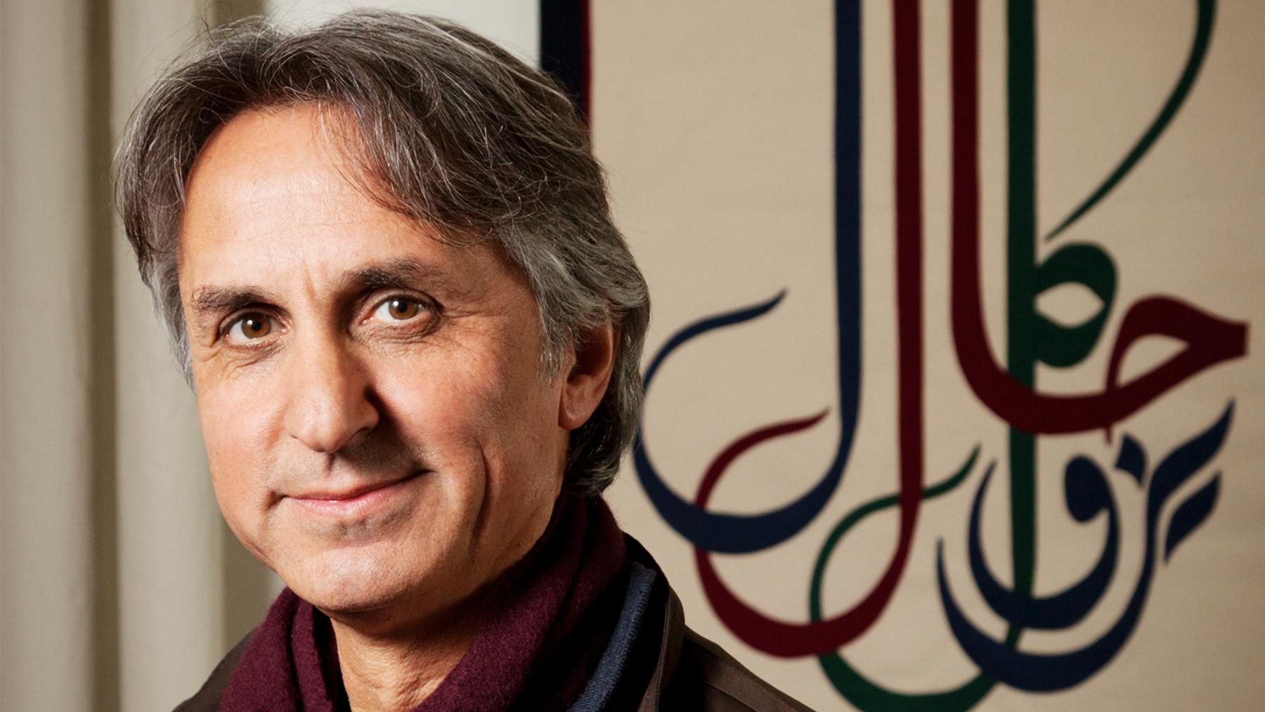 Professor Asef Bayat. Photo by L. B. Stauffer