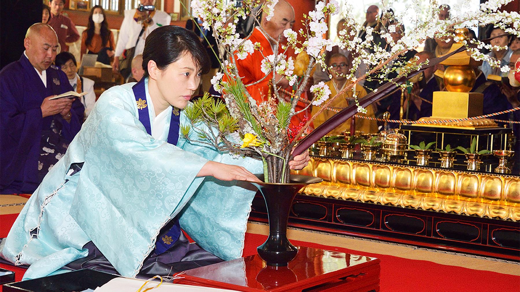 Photo courtesy Ikenobo Ikebana Society