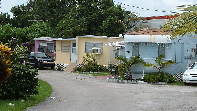 trailer park. image from Wiki Commons
