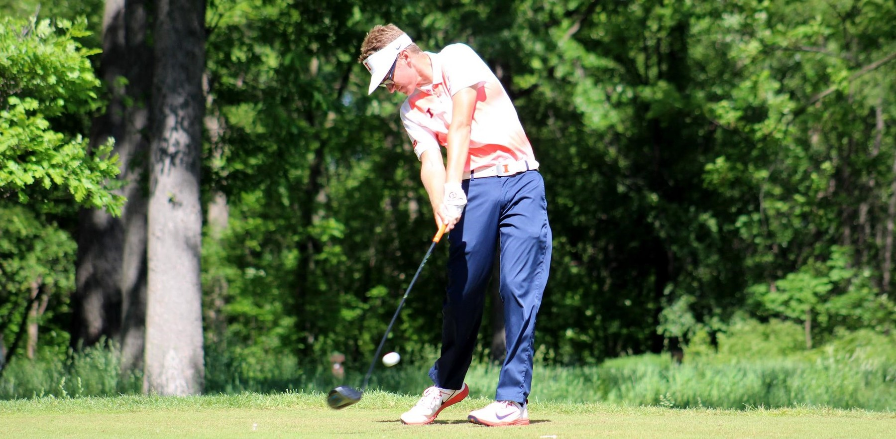 Fighting Illini senior golfer Dylan Meyer