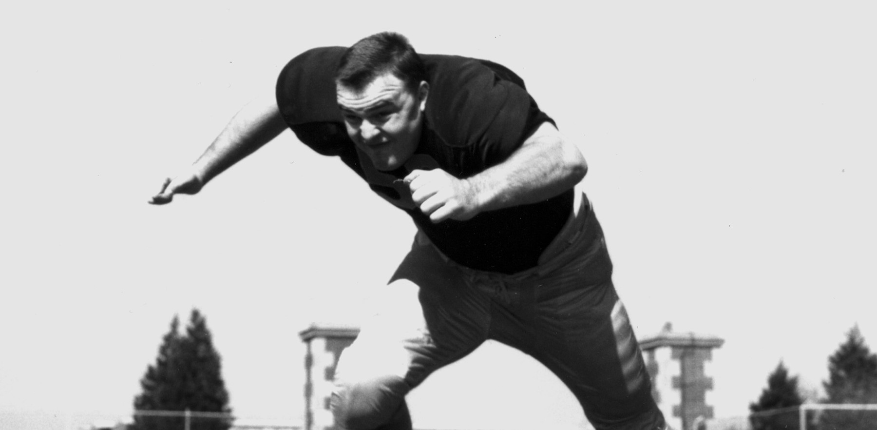 archival promotional  image of Dick Butkus as an Illini