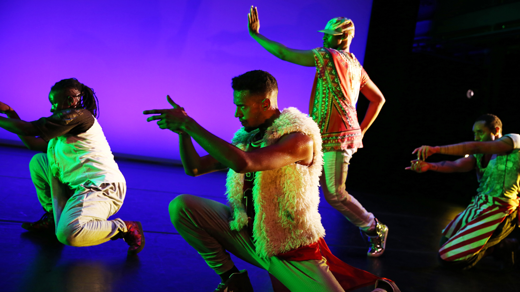 """Dancer-choreographer Cynthia Oliver's new work, """"Virago-Man Dem,"""" searches for an expansive view of black masculinity."""