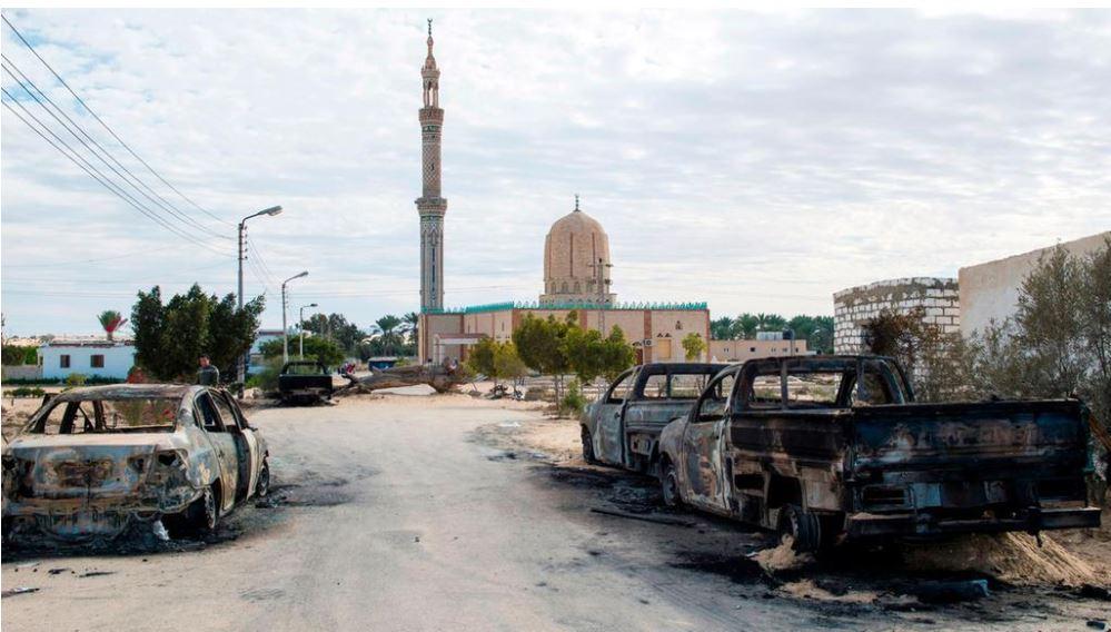a Sufi mosque where the recent terrorist attach happened