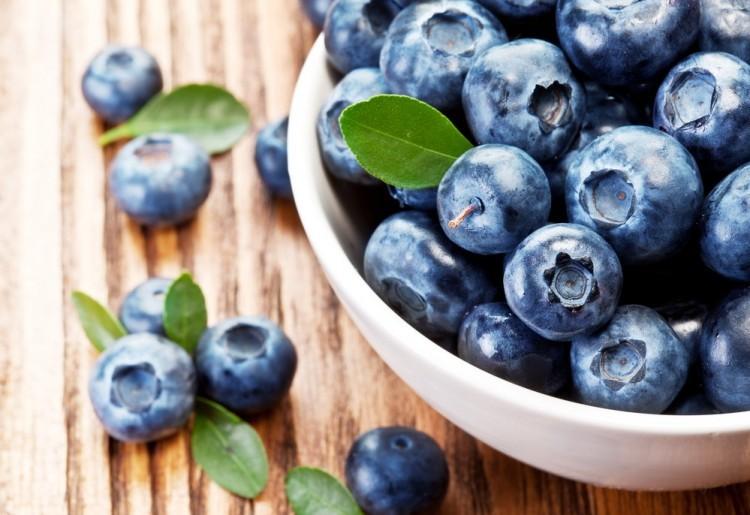 blueberries. Shutterstock image