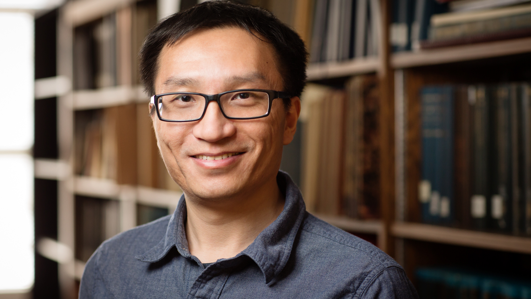 Illinois astronomy professor Yue Shen. Photo by L. Brian Stauffer