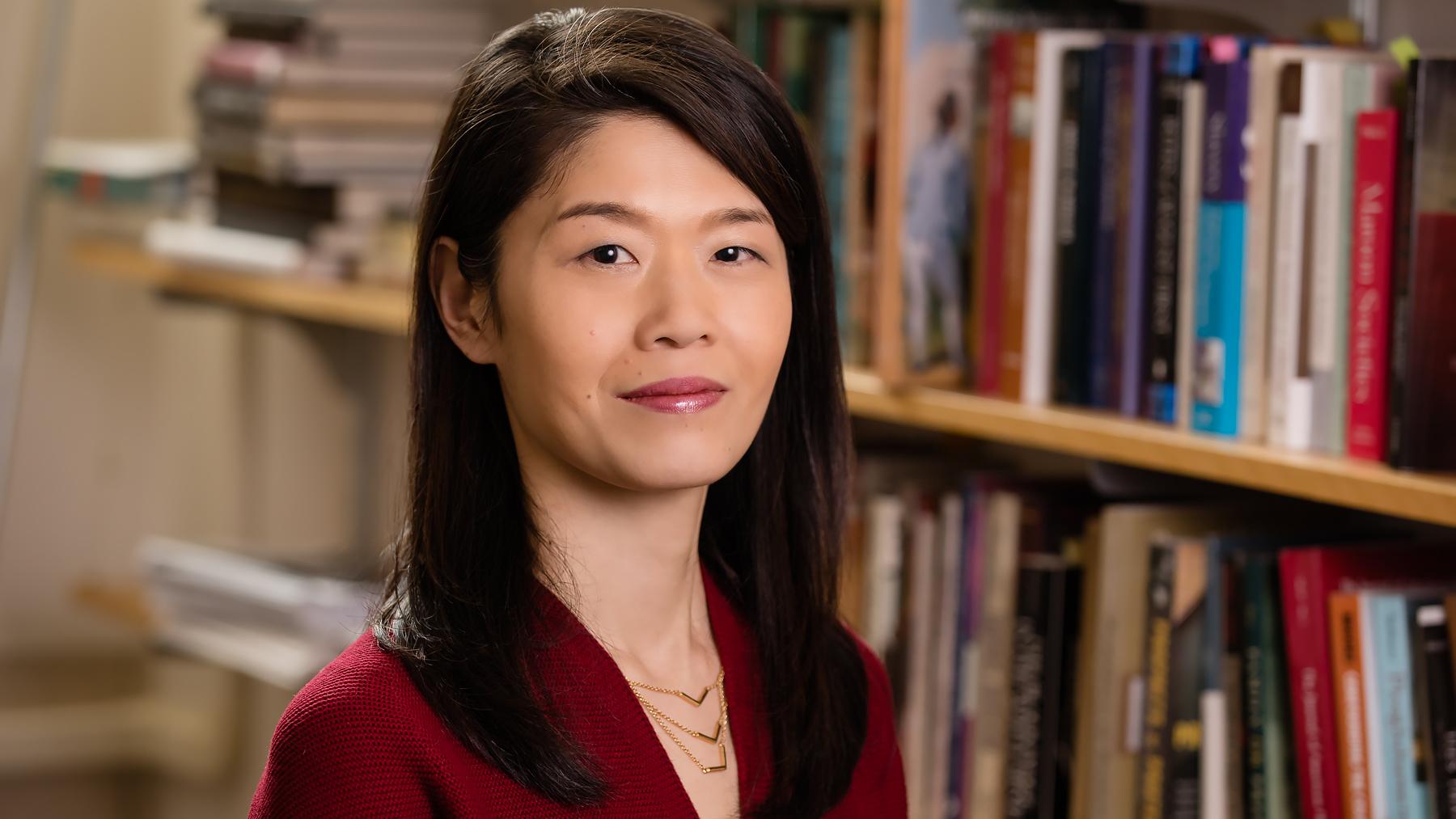 Professor Ikuko Asaka. Photo by L.B. Stauffer