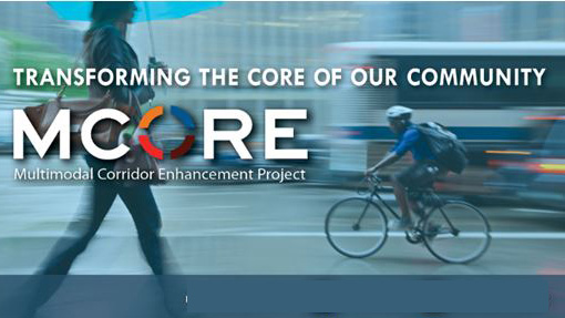 MCORE project logo