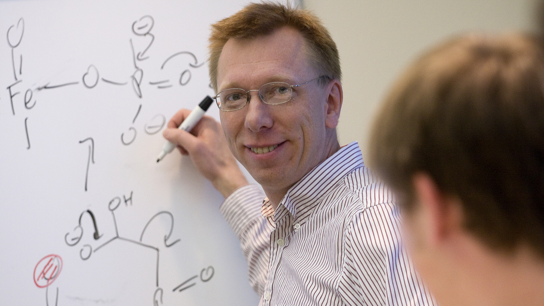 Chemistry professor Wilfred van der Donk. Photo by Don Hammerman