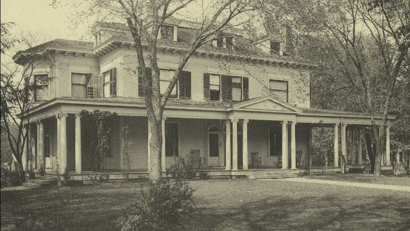 The President's house was at 1410 W. Green St, Urbana