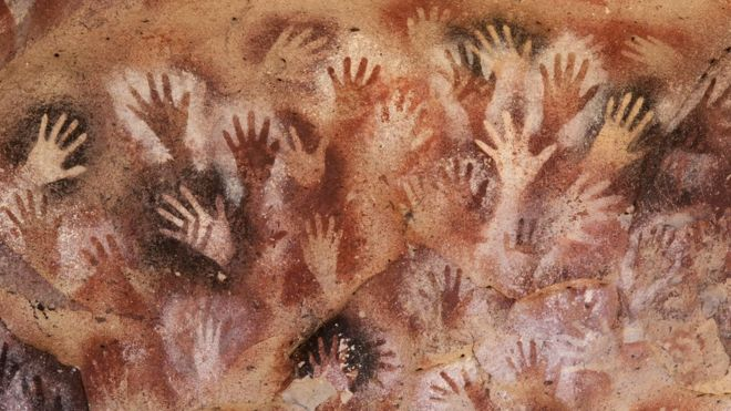 cave of the hands in Argentina