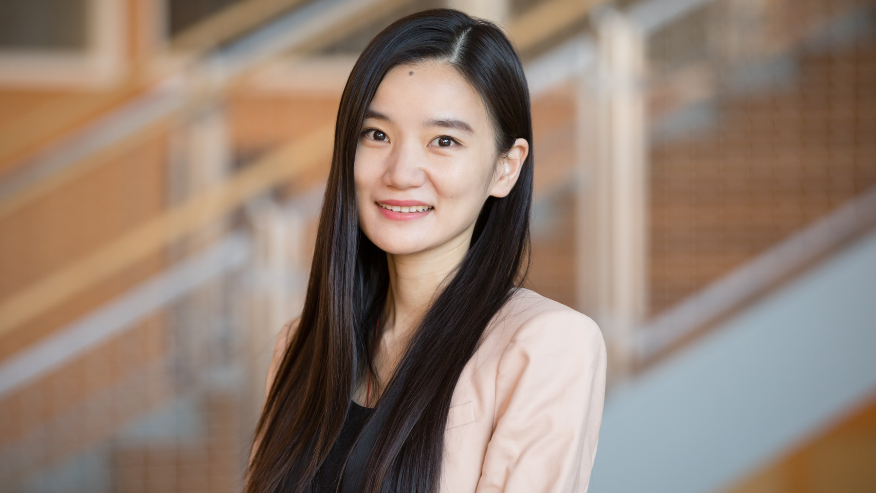Professor Yuqian Xu. Photo by L. Brian Stauffer