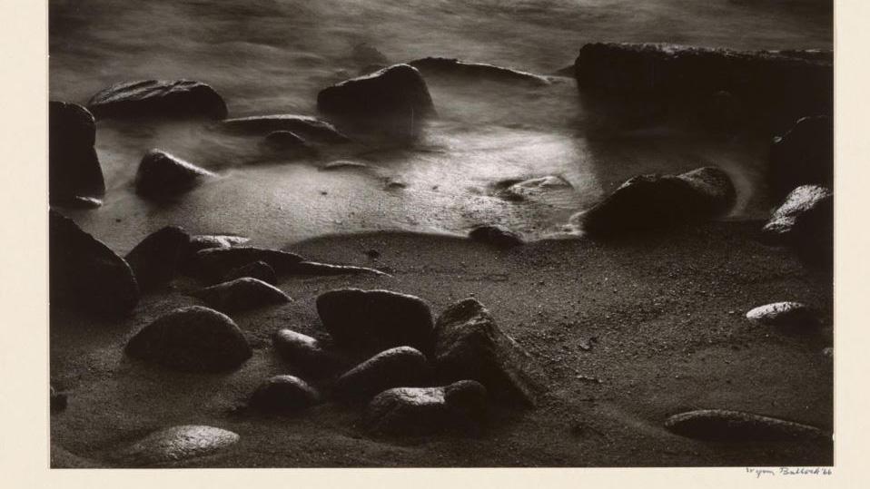 gelatine silver print: Wynn Bullock, Shoreline, 1966. Copyright Wynn Bullock