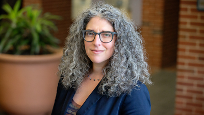 Lauren R. Aronson, an associate clinical professor of law and the director of the Immigration Law Clinic at the University of Illinois Urbana-Champaign College of Law.  Photo by L. Brian Stauffer