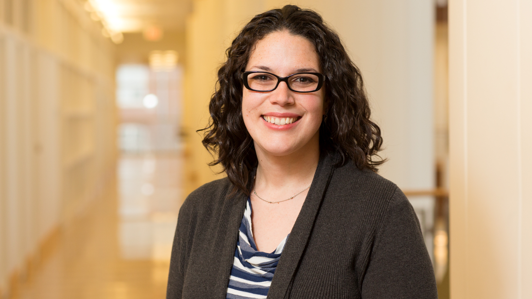 Alicia Uribe-McGuire, a political science professor who studies the politics of judicial appointments.  Photo by L. Brian Stauffer