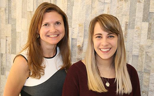 Megan Dailey and Elizabeth Davis