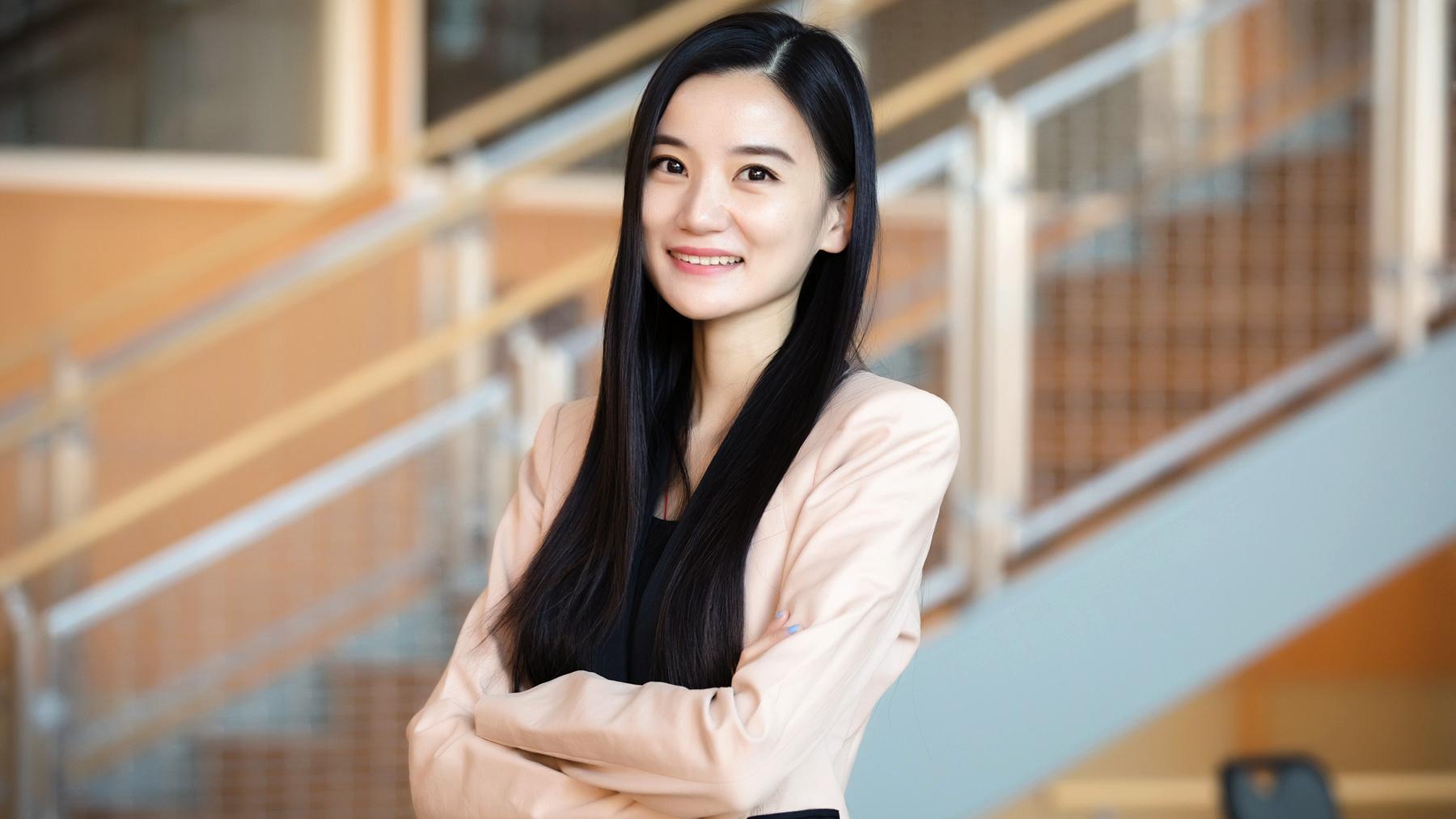 business administration professor Yuqian Xu