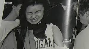 Illio (student yearbook) photo of student getting menengitis vaccine