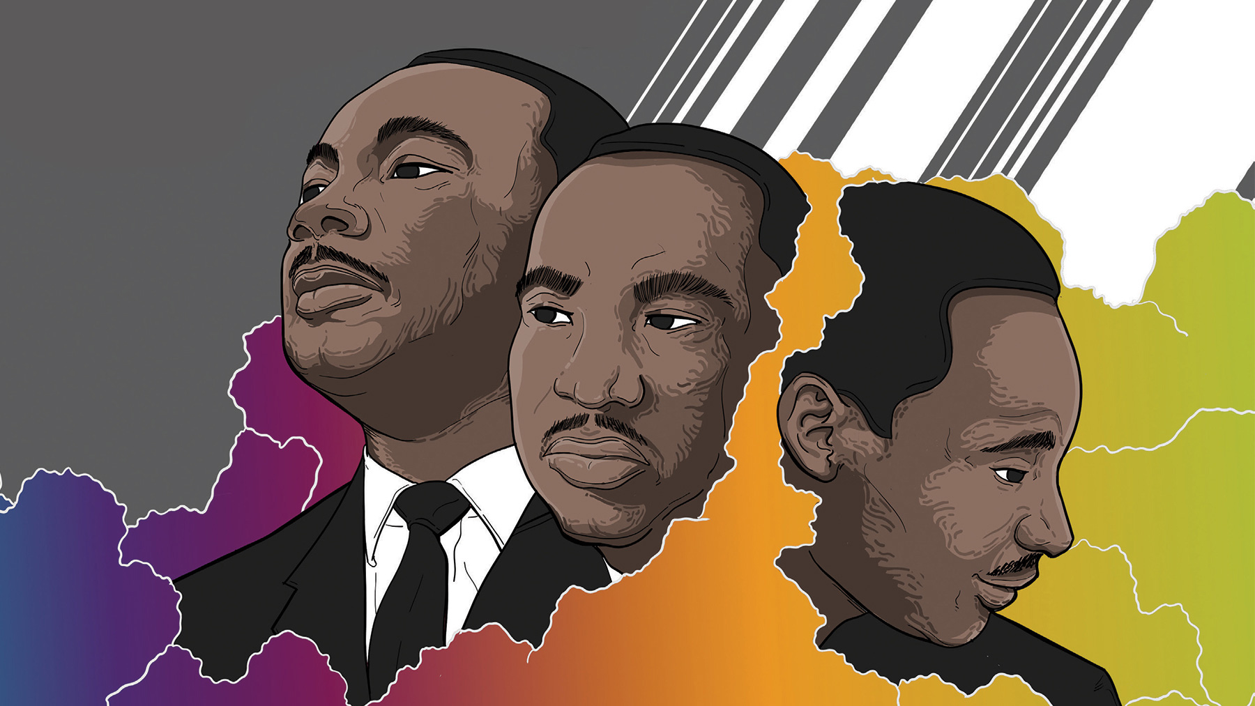 MLK graphic provided by Office of the Chancellor