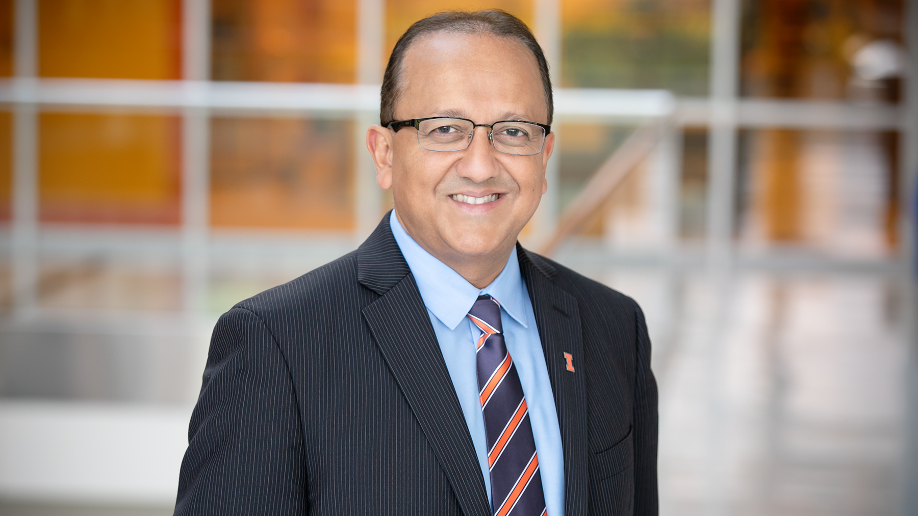 Rashid Bashir, Dean of the College of Engineering. Photo by L. B. Stauffer
