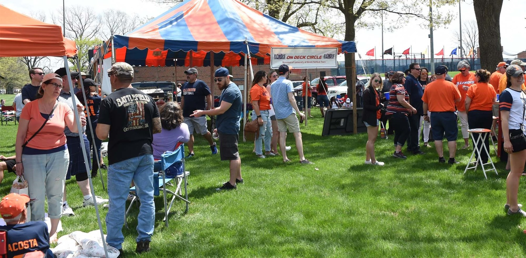 this year's  the annual World's Largest Softball Tailgate is May 4