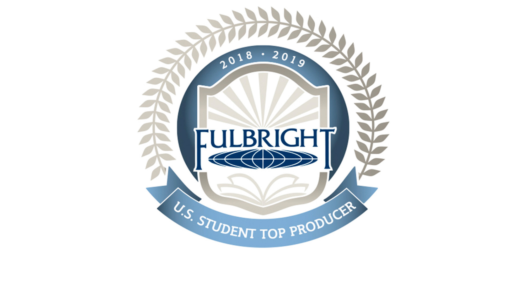 Fulbright 'top student producer' graphic