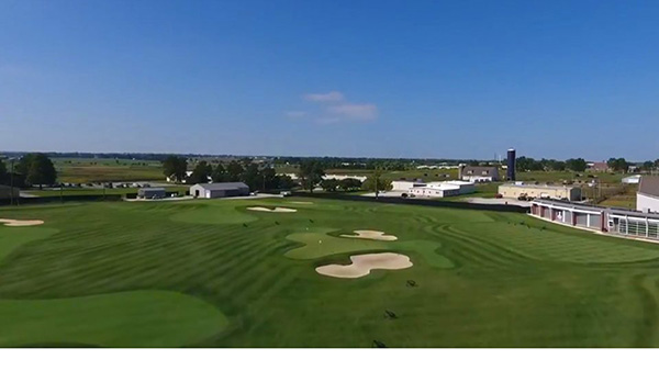 The Lauritsen/Wohlers Outdoor Golf Facility at the University of Illinois.