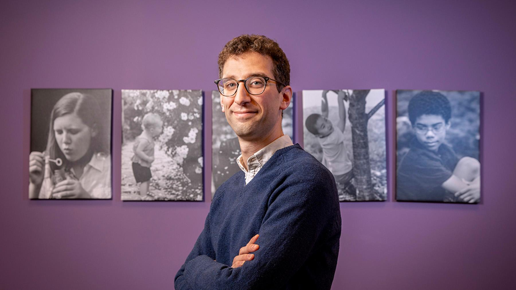 sociologist William Schneider. Photo by Fred Zwicky