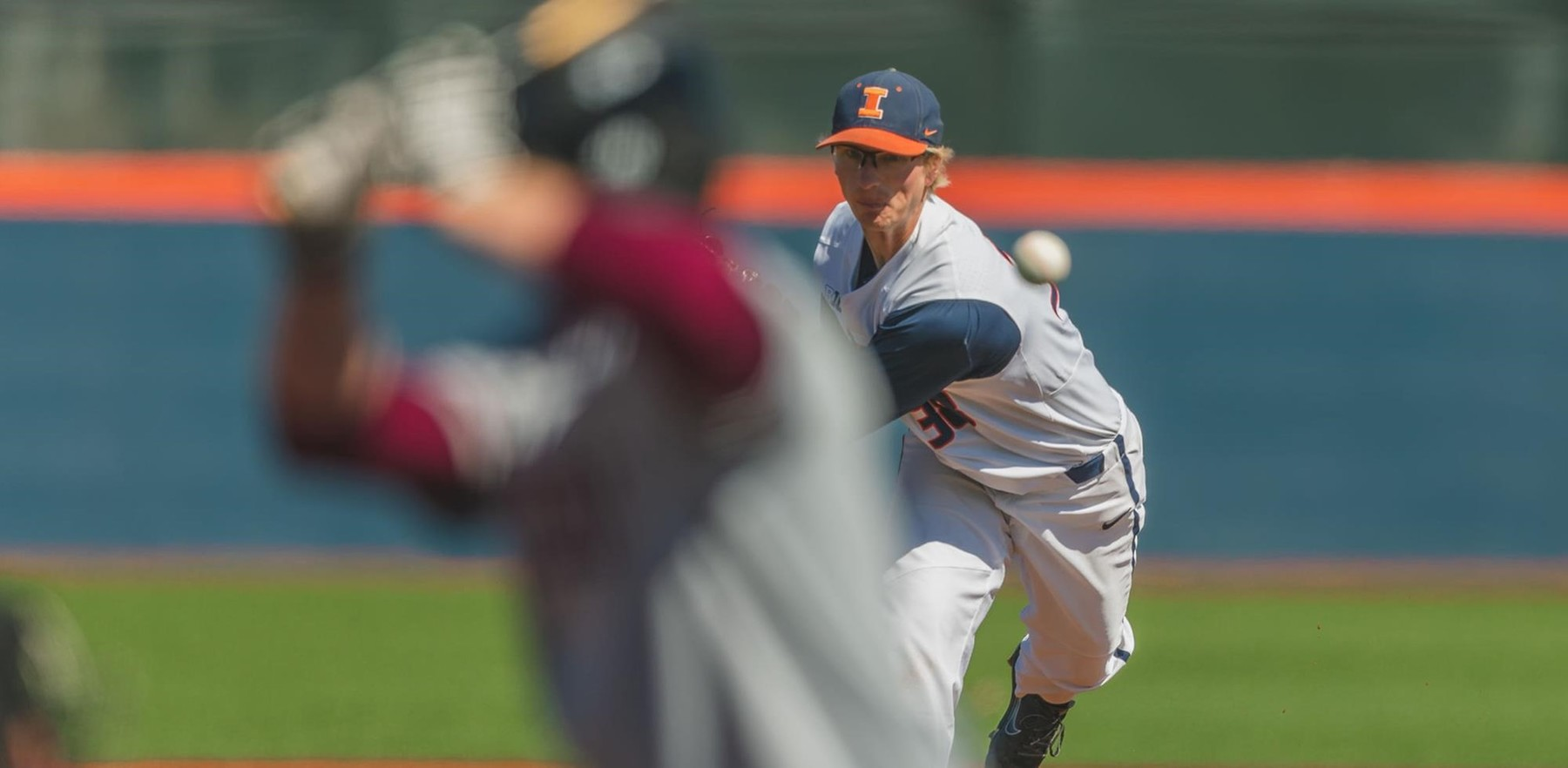 Left-handed Illini pitcher Andy Fisher will get the start Friday at 4 pm