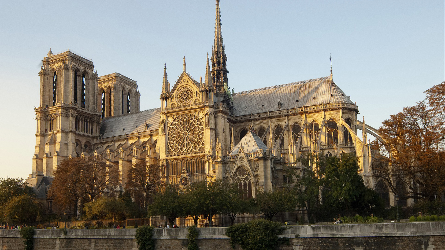 Notre Dame Cathedral. Photo by Corina Benesch