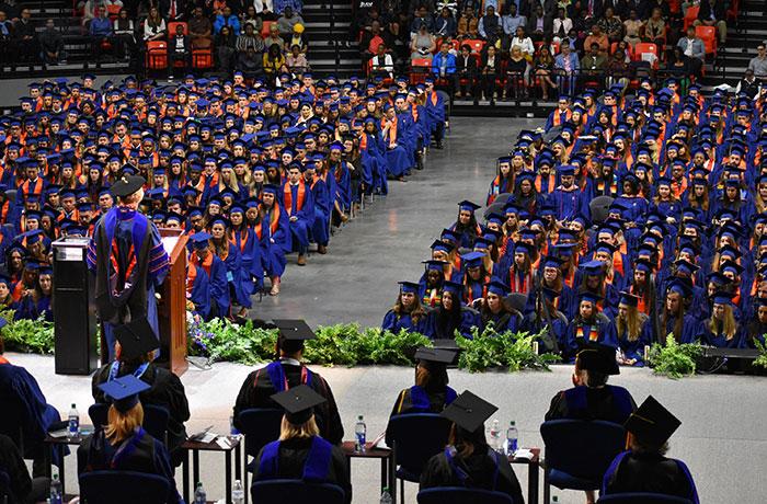 Students in graduation