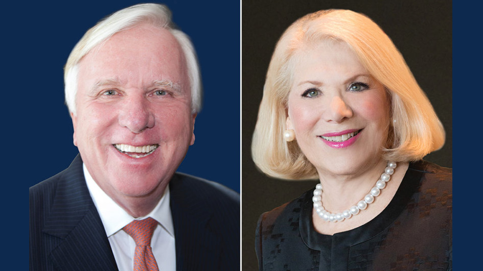 Rich Sieracki and Jill Wine-Banks, photos provided by subjects