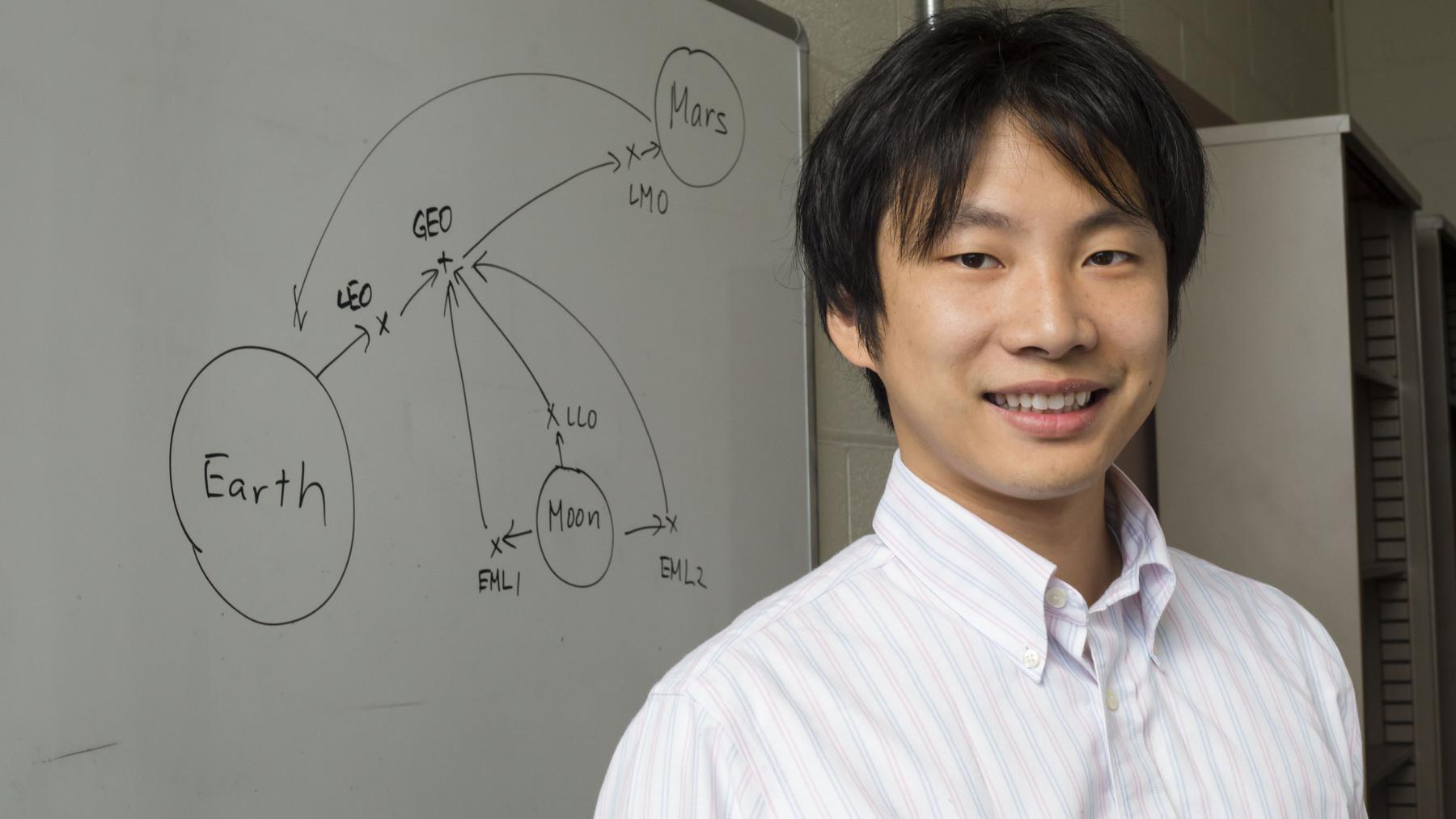 aerospace engineer Koki Ho