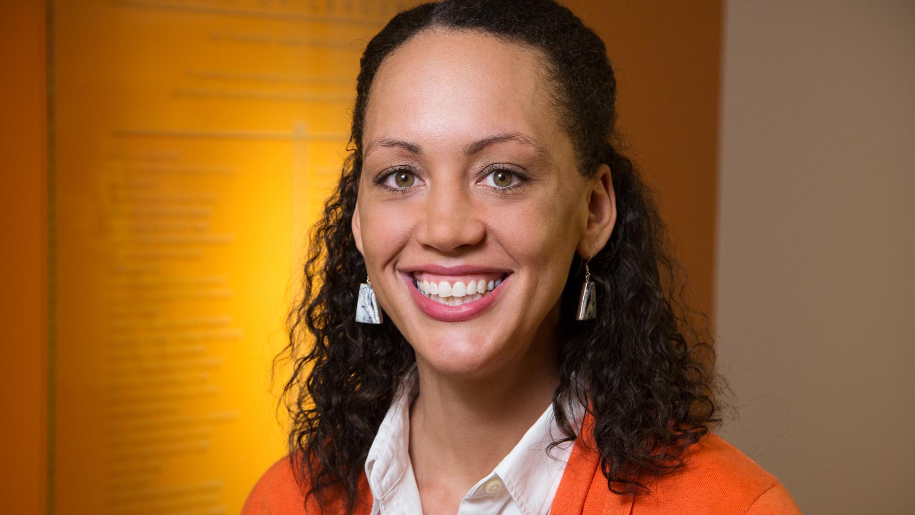 social work professor Karen M. Tabb. Photo by L. B. Stauffer