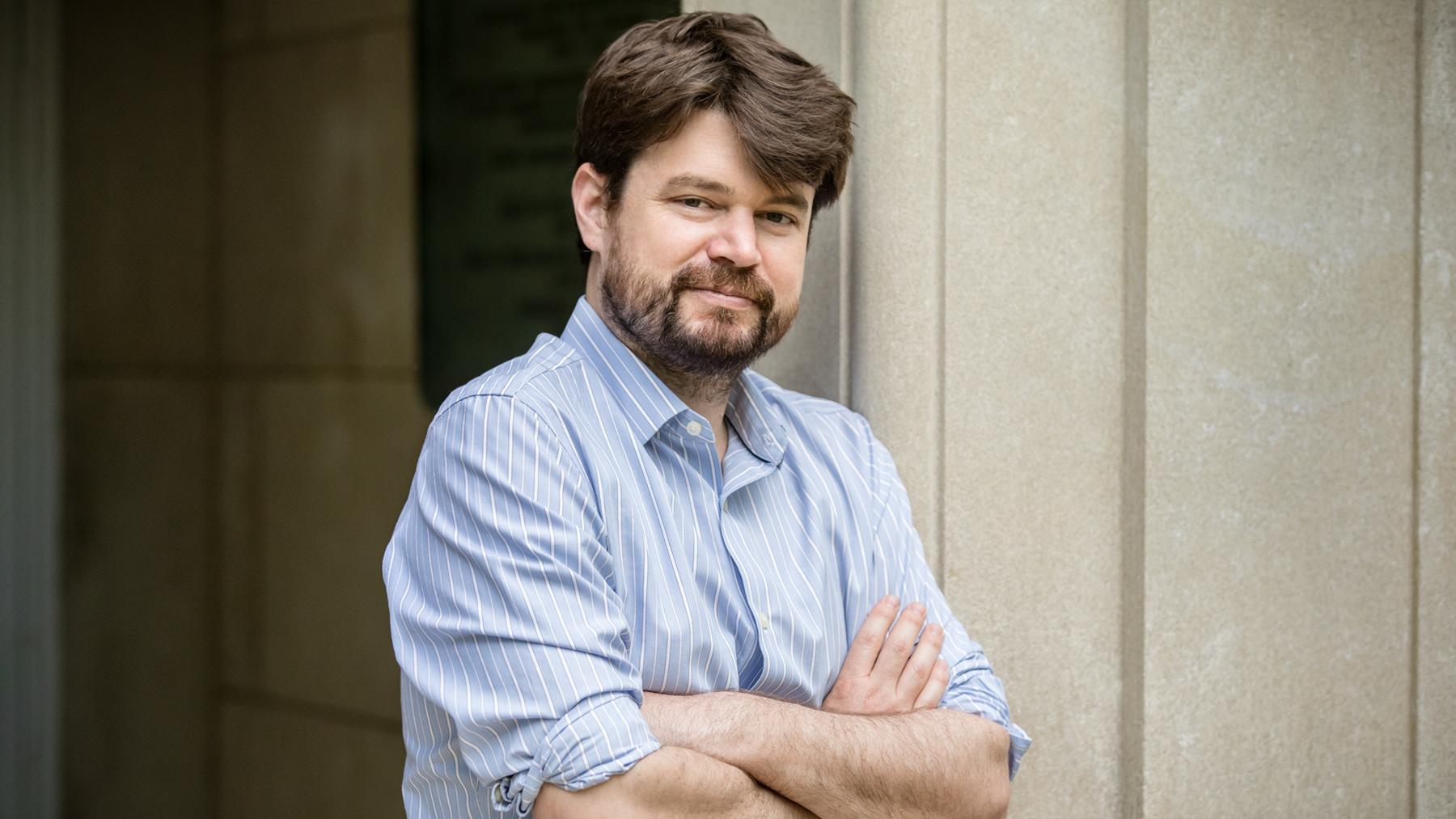 Mark Borgschulte, a professor of economics. Photo by University of Illinois