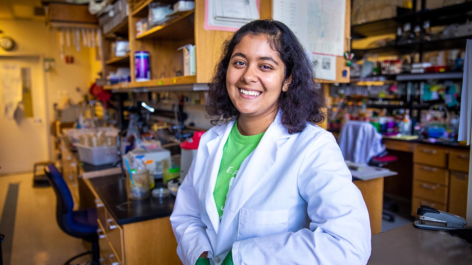 Ananya Sen. Photo by Fred Zwicky