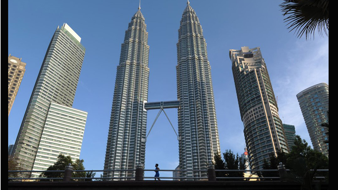 Pellli's Petronas Twin Towers. Photo by Mohd Rasfan/Agence France-Presse — Getty Images
