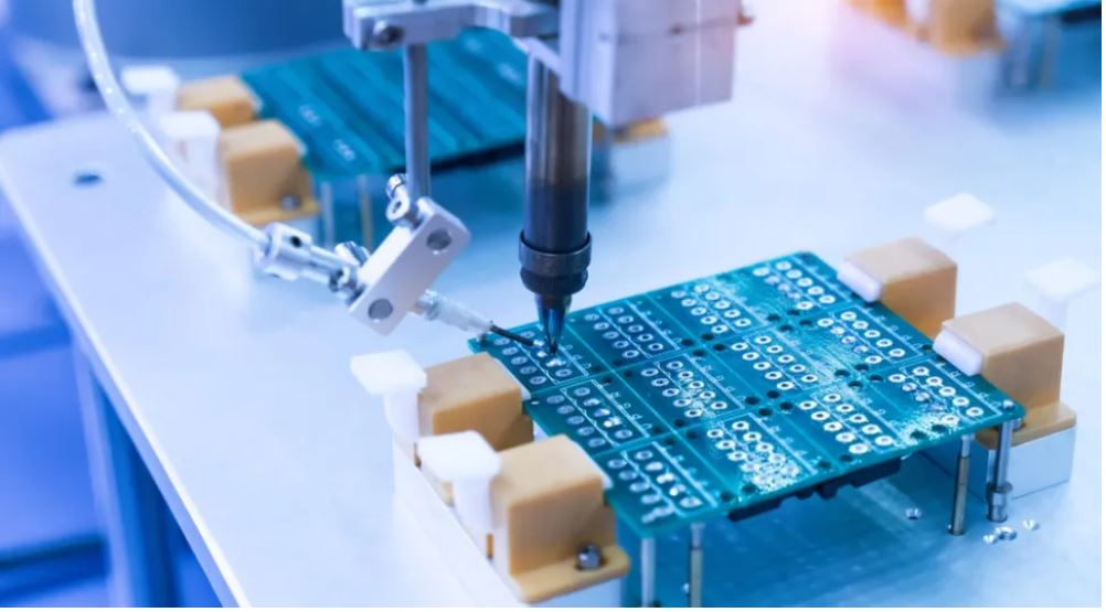 semiconductor fabrication. Shutterstock image.