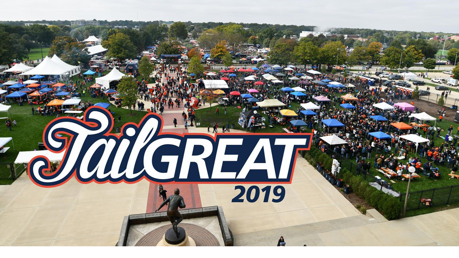 tailGREAT logo over wide shot of Grange Grove