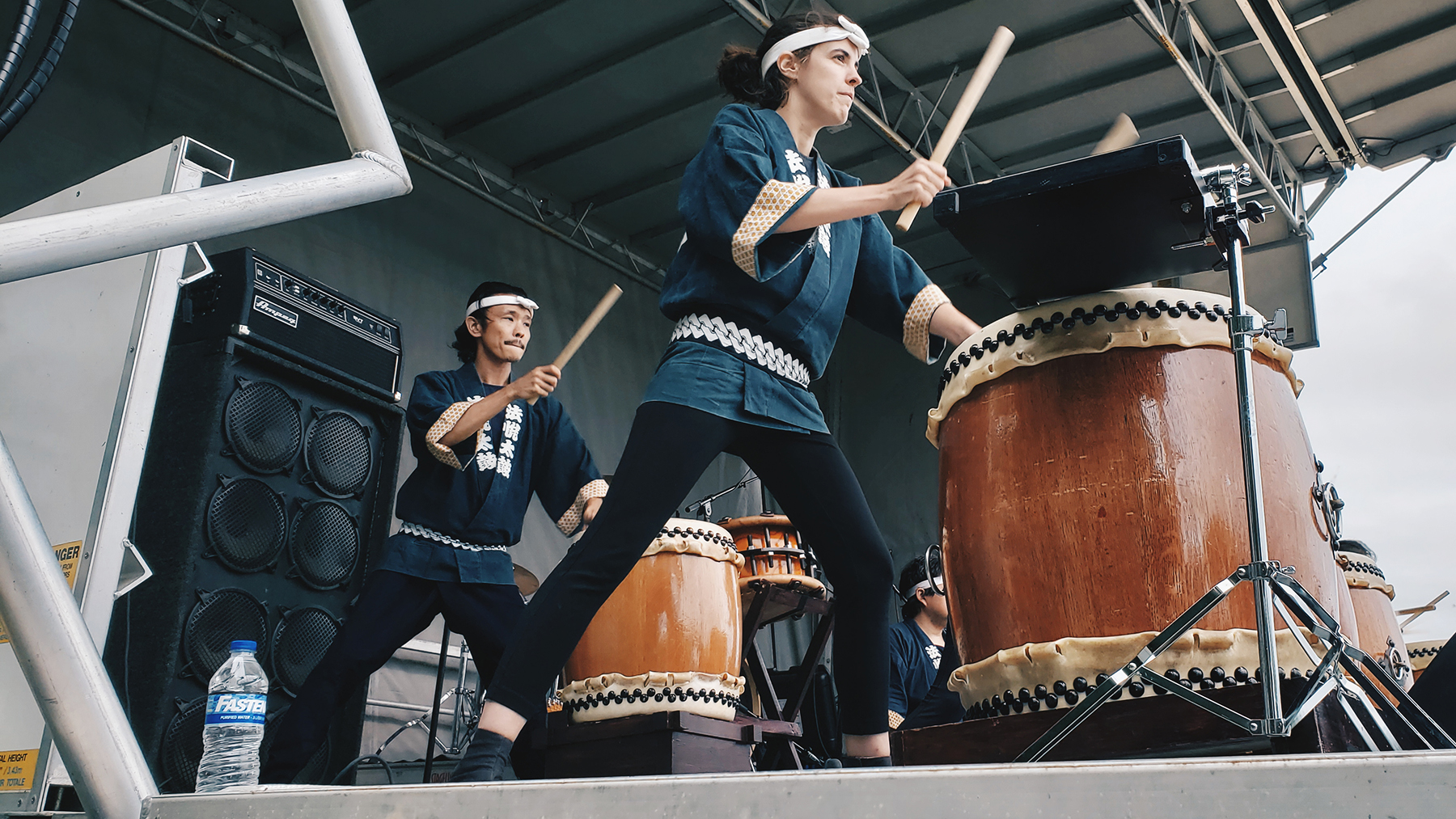 The Ho Etsu Taiko drum group of Chicago will return to perform at this year's Matsuri Festival.