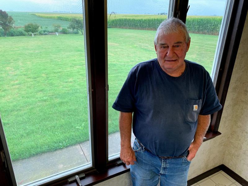 Gridley, Illinois, area farmer Wes Kingdon