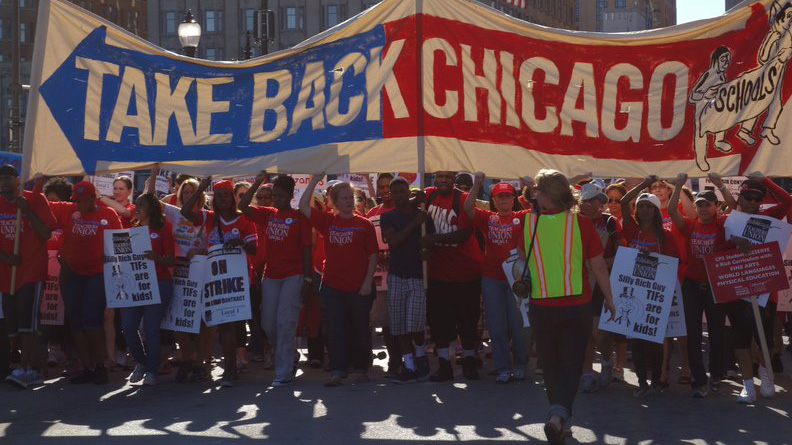 image from the CTU strike in 2012. Image via Flickr