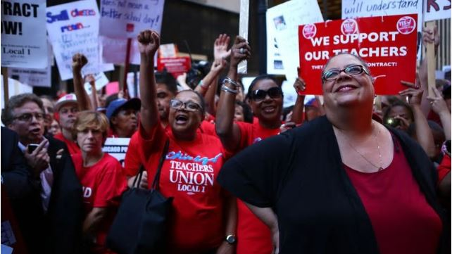 scene from a CTU rally in 2012