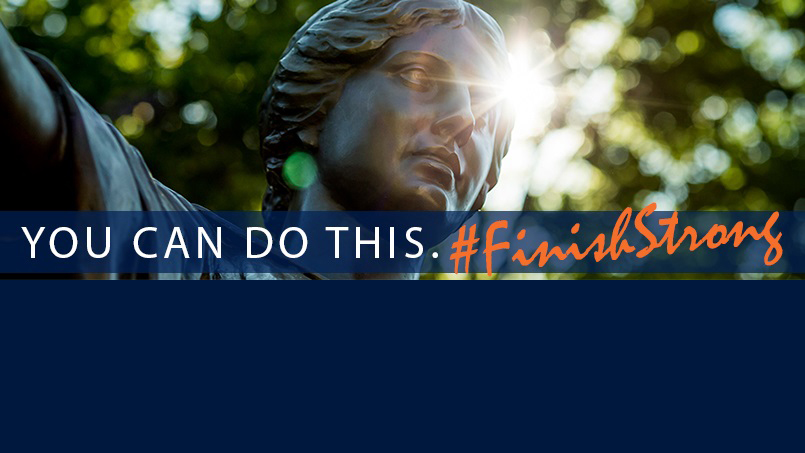 Banner - You can do this. hashtag-Finish-Strong