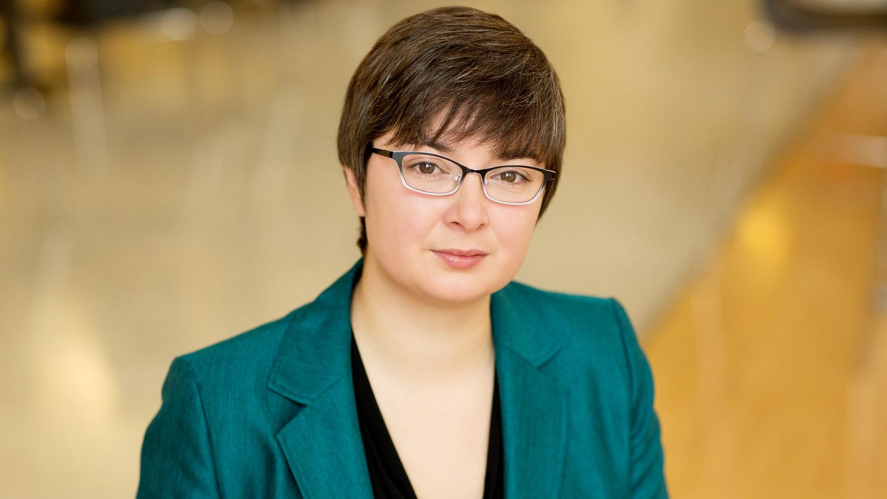 Illinois labor economist Eliza Forsythe. Photo by L. B. Stauffer