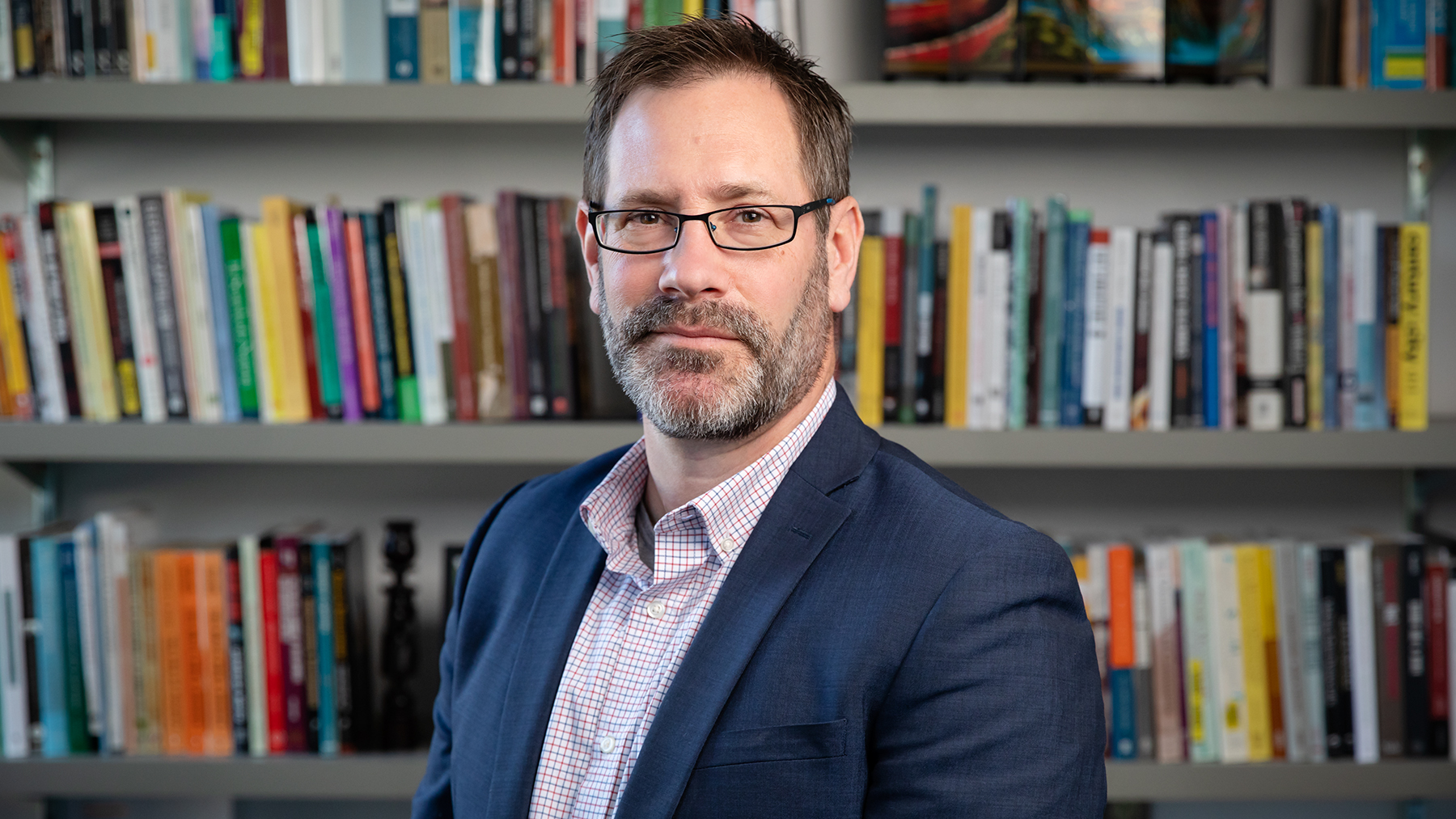 Sociology professor Brian Dill. Photo by L. Brian Stauffer