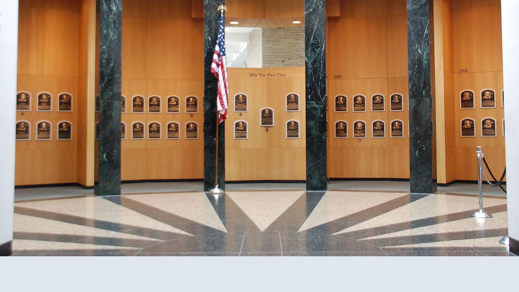national baseball hall of fame. Photo via flickr