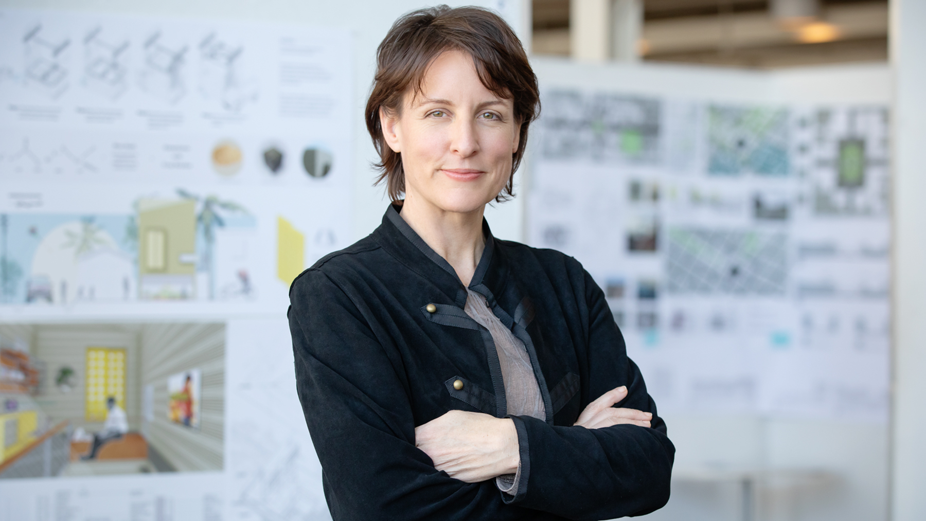 Landscape Architecture professso Mary Pat McGuire. Photo by Leslie B. Stauffer