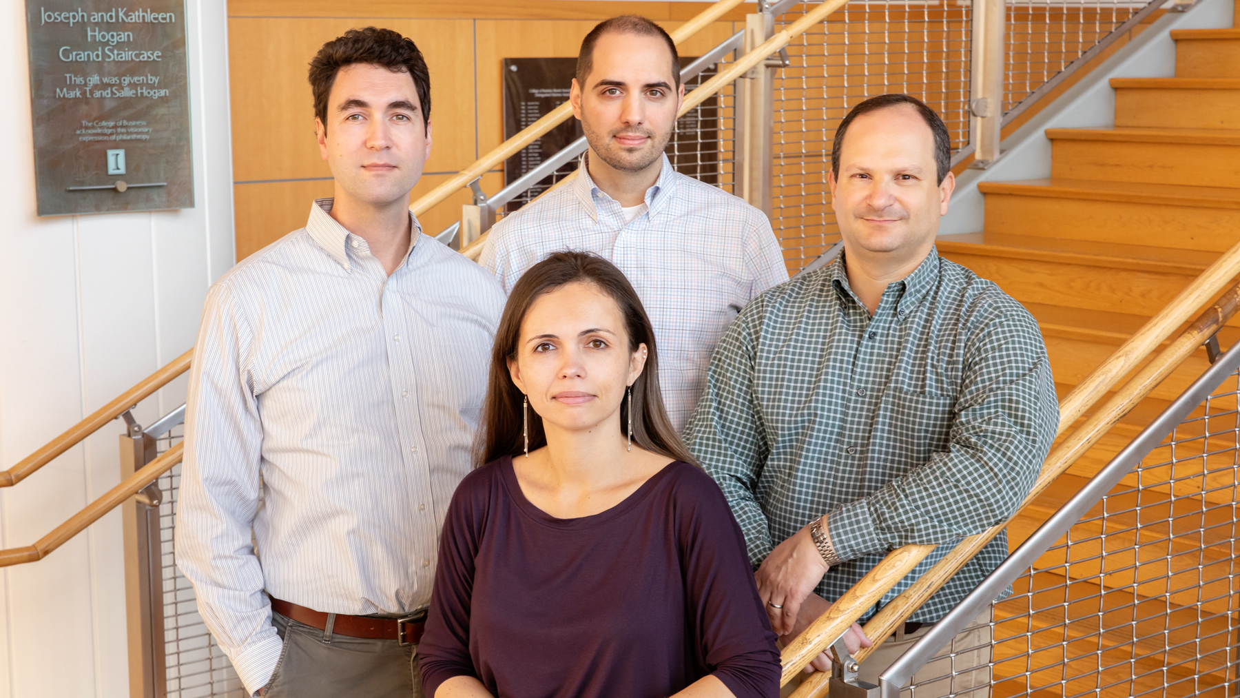 Scholars from the Gies College of Business at Illinois, including Julian Reif, Tatyana Deryugina, David Molitor and Nolan Miller