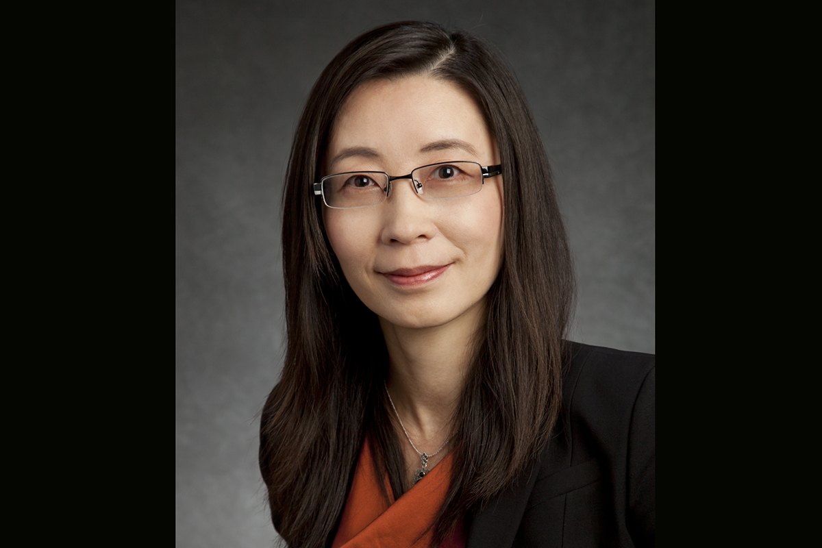 Xiuling Li, an electrical and computer engineering professor. Photo by L. Brian Stauffer