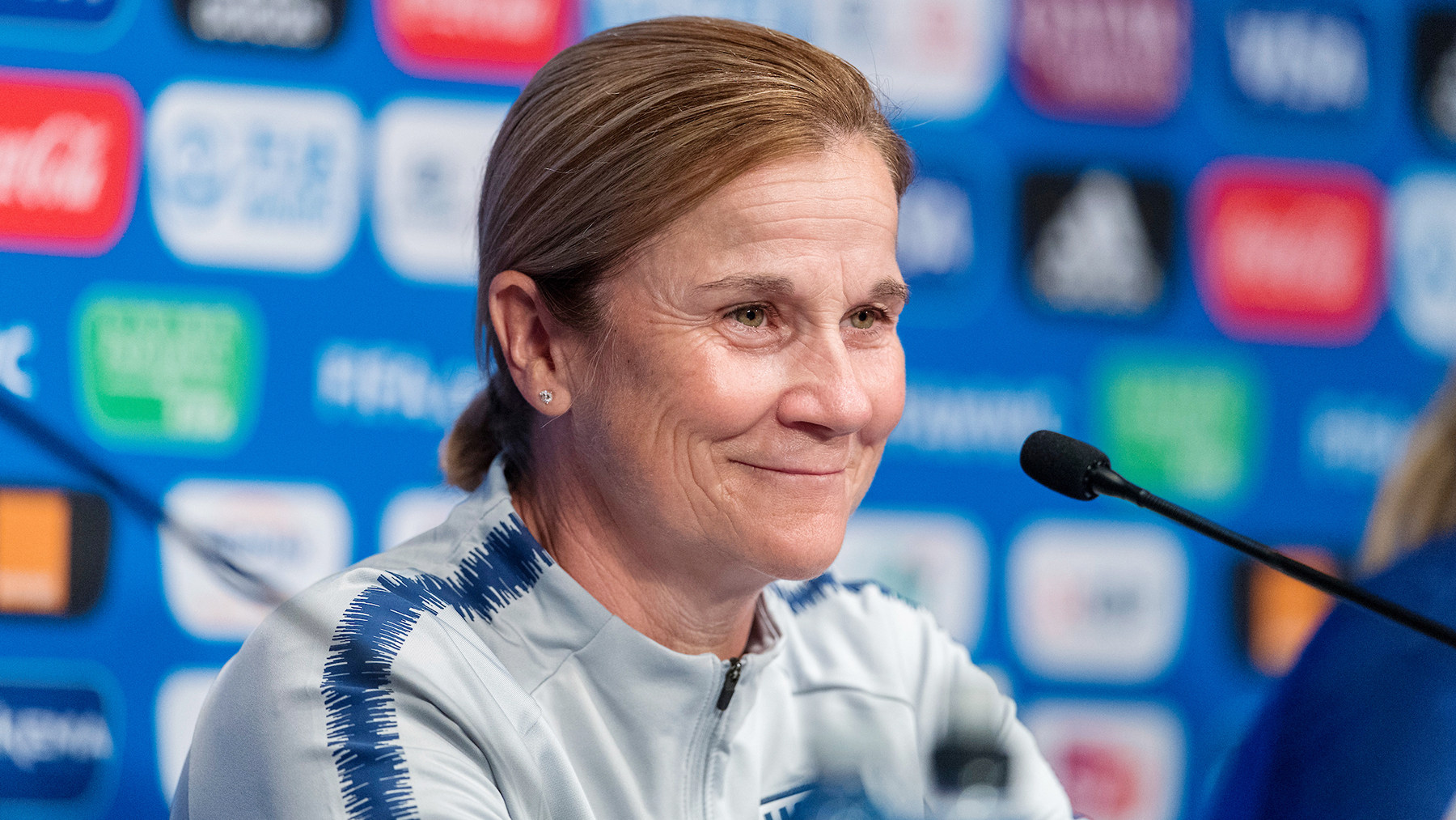 Coach Jill Ellis will be the 2020 commencement speaker at the University of Illinois. Photo by ISI Photos